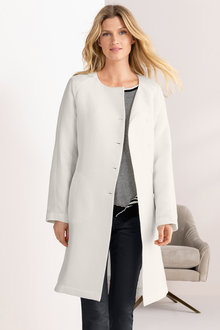 Grace Hill Ribbed Coat with Tie