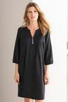 Grace Hill Linen Pintuck Dress