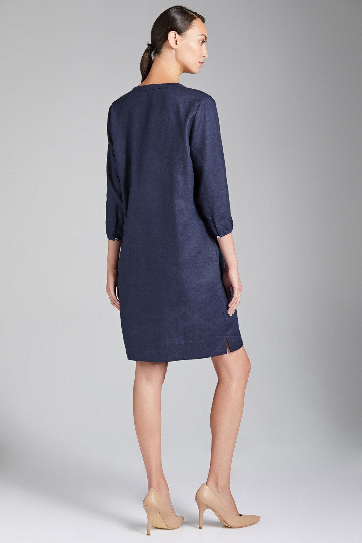 3ba125294a Grace Hill Linen Pintuck Dress Online