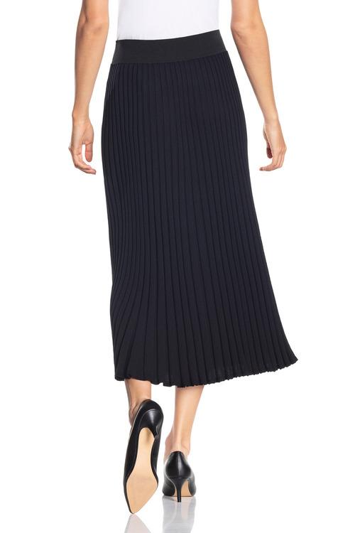 Grace Hill Knitted Pleat Skirt