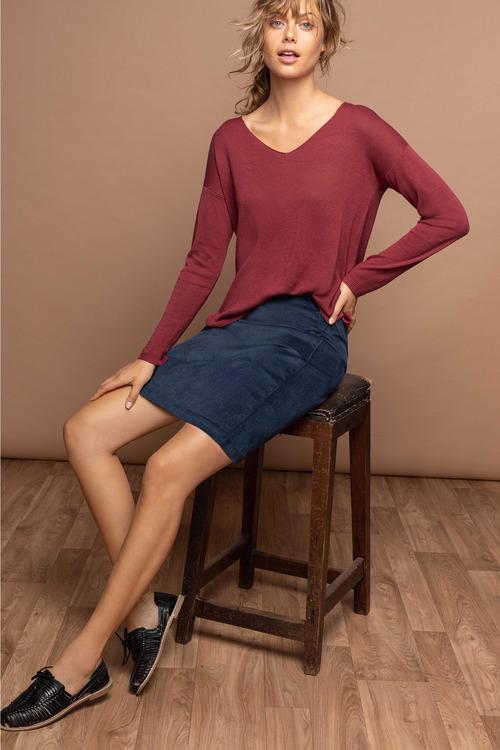 Emerge Short Cord Skirt