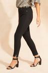 Emerge Fray Hem Distressed Skinny Jeans