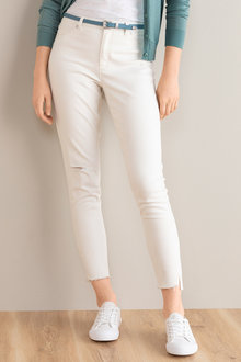 Emerge Fray Hem Distressed Skinny Jean
