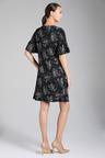 Capture Dry Knit Ruffle Sleeve Dress