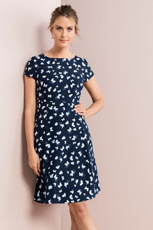 Capture Fit And Flare Dress - 221091