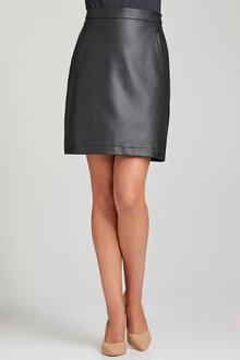 Emerge PU Pocket Skirt