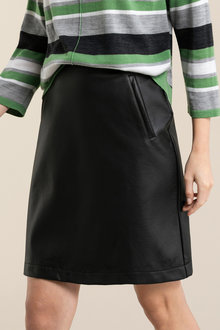 Emerge PU Pocket Skirt