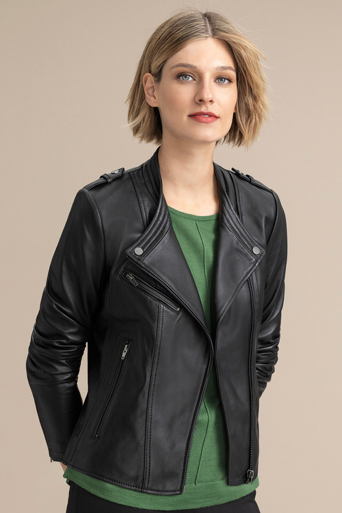 Emerge Biker Leather Jacket
