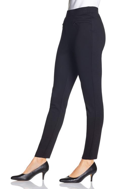 Grace Hill Ponte Zip Detail Pant