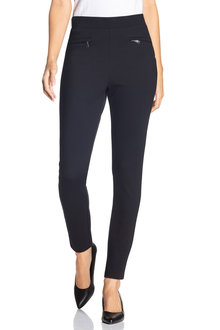 Grace Hill Ponte Zip Detail Pant