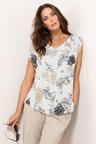 Plus Size - Sara Tie Shoulder Top