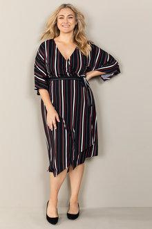 Plus Size - Sara Wrap Dress