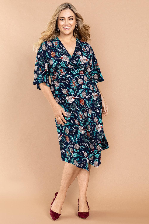 c2c299058e5c Sara Wrap Dress Online | Shop EziBuy