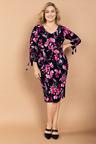 Plus Size - Sara Eyelet Detail Dress