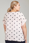 Plus Size - Sara Spotted Top