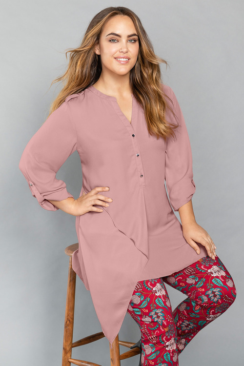 Plus Size - Sara Easy Care Tunic