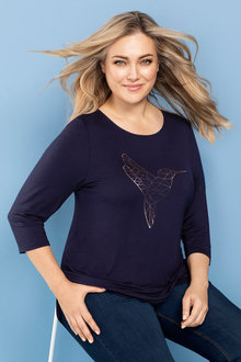 Plus Size - Sara Knit Tunic
