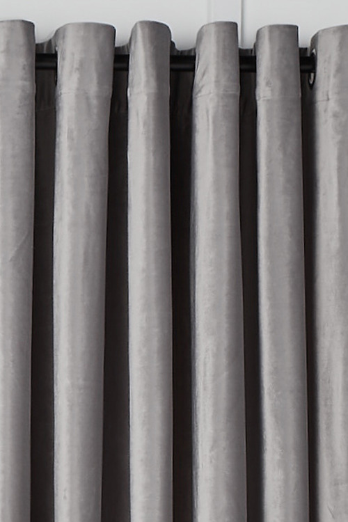 Velvet Eyelet Curtains