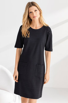 Grace Hill Ruched Sleeve Dress