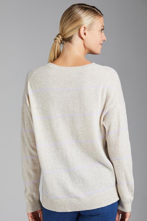 Emerge Lambswool Stripe Sweater