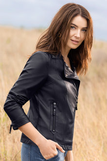 Capture PU Biker Jacket