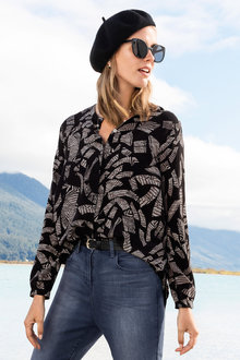 Grace Hill Silk Blouse