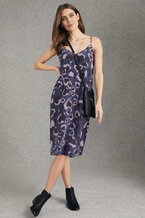 Grace Hill Silk Slip Dress