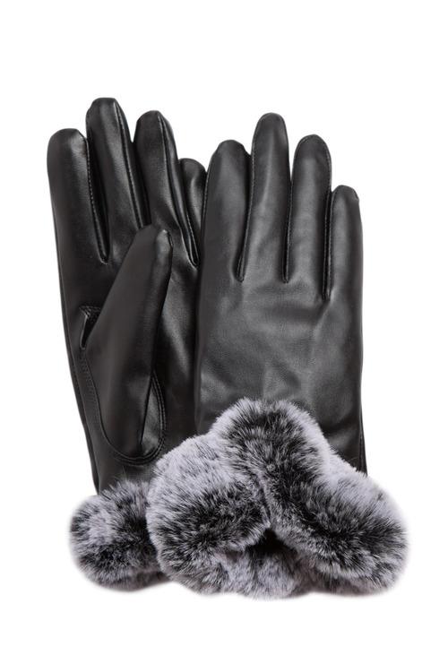 Fur Trim Glove