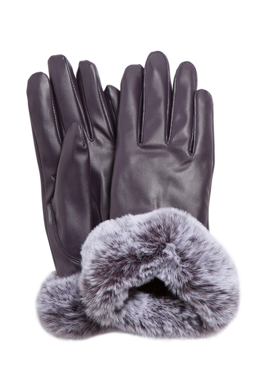 Fur Trim Glove