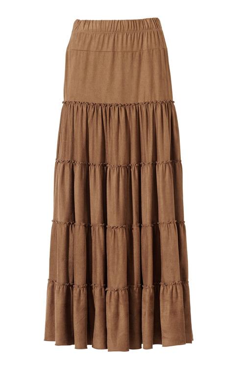 Heine Tiered Maxi Skirt
