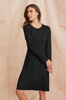 Grace Hill Long Sleeve Swing Dress - 221377