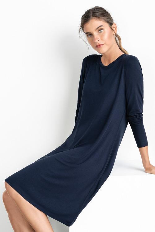 Grace Hill Long Sleeve Swing Dress