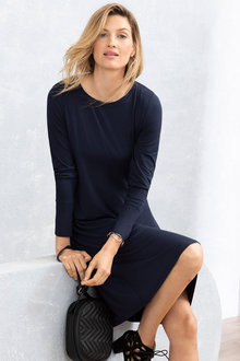 Grace Hill Long Sleeve Swing Dress