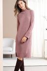Grace Hill Rib Detail Knitwear Dress