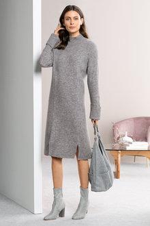 Grace Hill Rib Detail Knitwear Dress - 221380
