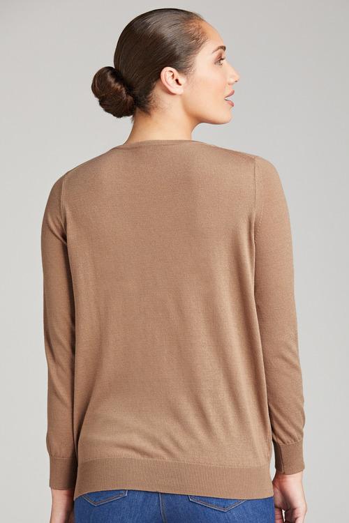 Grace Hill V Neck Sweater
