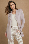 Grace Hill Waffle Knit Shawl Collar Cardigan