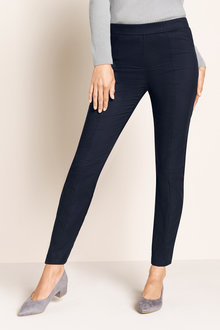 Grace Hill Panelled Pull On Zip Detail Pant - 221400