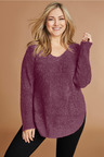 Plus Size - Sara Poodle Sweater
