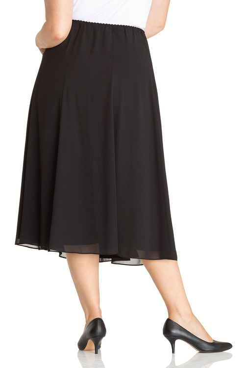 Plus Size - Sara Chiffon skirt