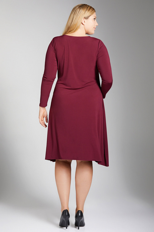 Plus Size - Sara Buckle Detail Dress