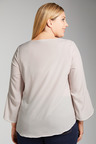 Plus Size - Sara Beaded Neck Top