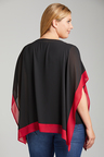 Plus Size - Sara Colour Block Top