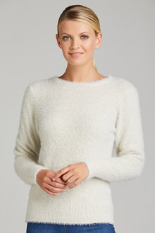 Emerge Feather Knit Jumper