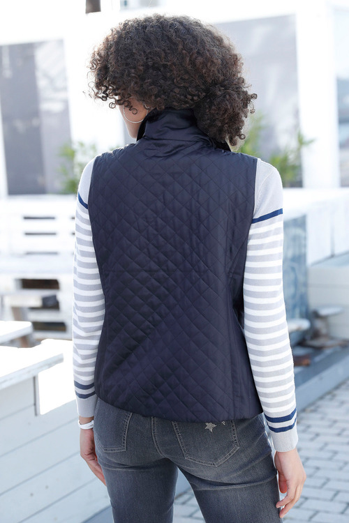 Capture European Quilted Puffer Vest