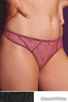 Next Embroidered Knickers Two Pack - Thong