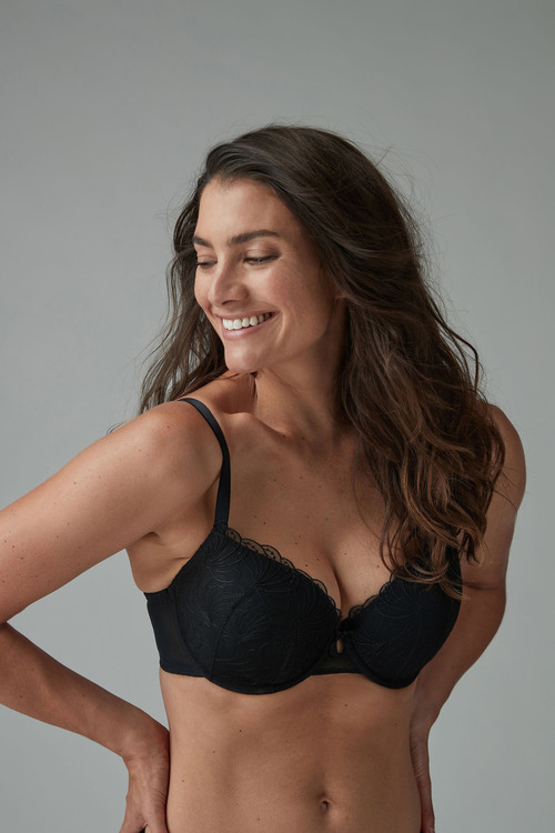 66b71dd15c437 Next Emily Push Up Embroidered Balcony Bras Two Pack Online