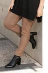 Plus Size - Sara Faux Suede Pant