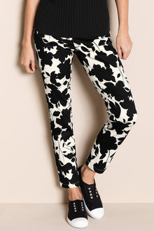 Capture Cotton Sateen Printed Pant