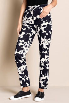 Capture Cotton Sateen Printed Pants